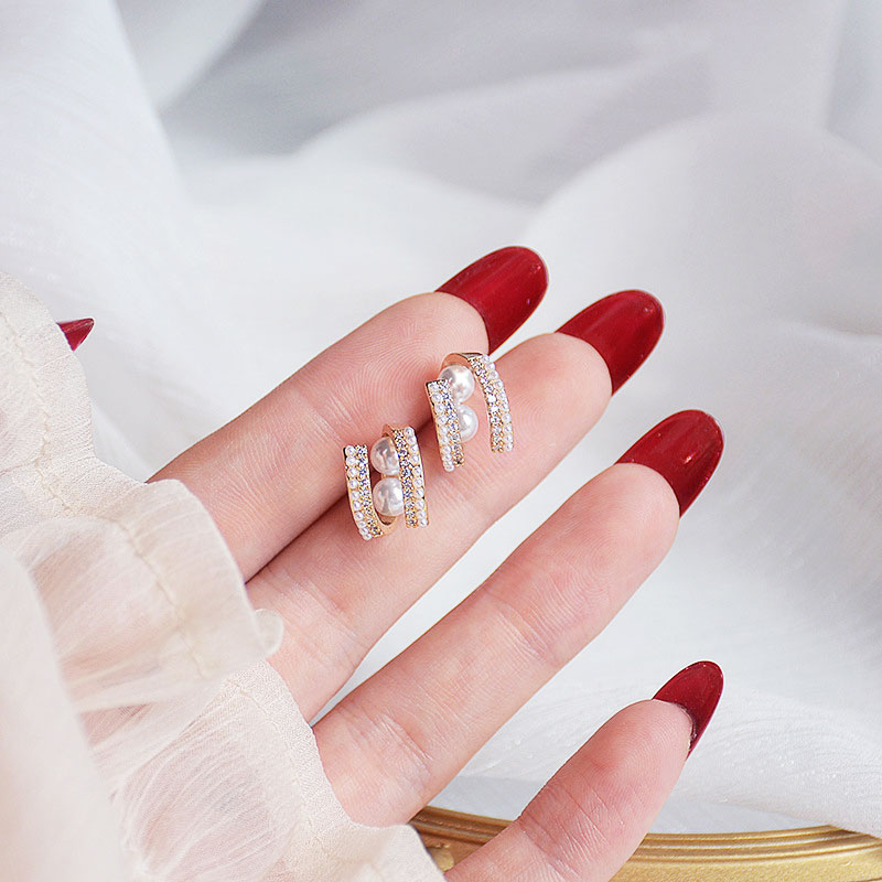 Circle Earrings Temperament Minimalist Earrings Daily All-match Fine Charm Exquisite Luxury Jewelry Earrings Accessories Gift
