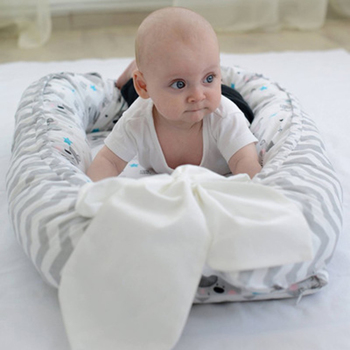 90x50CM Portable baby nursing sleeping nest bed breathable cotton shaping mat baby bionic bed for infants toddlers crib bumper 90x50cm portable baby nursing sleeping nest bed breathable cotton shaping mat baby bionic bed for infants toddlers crib bumper