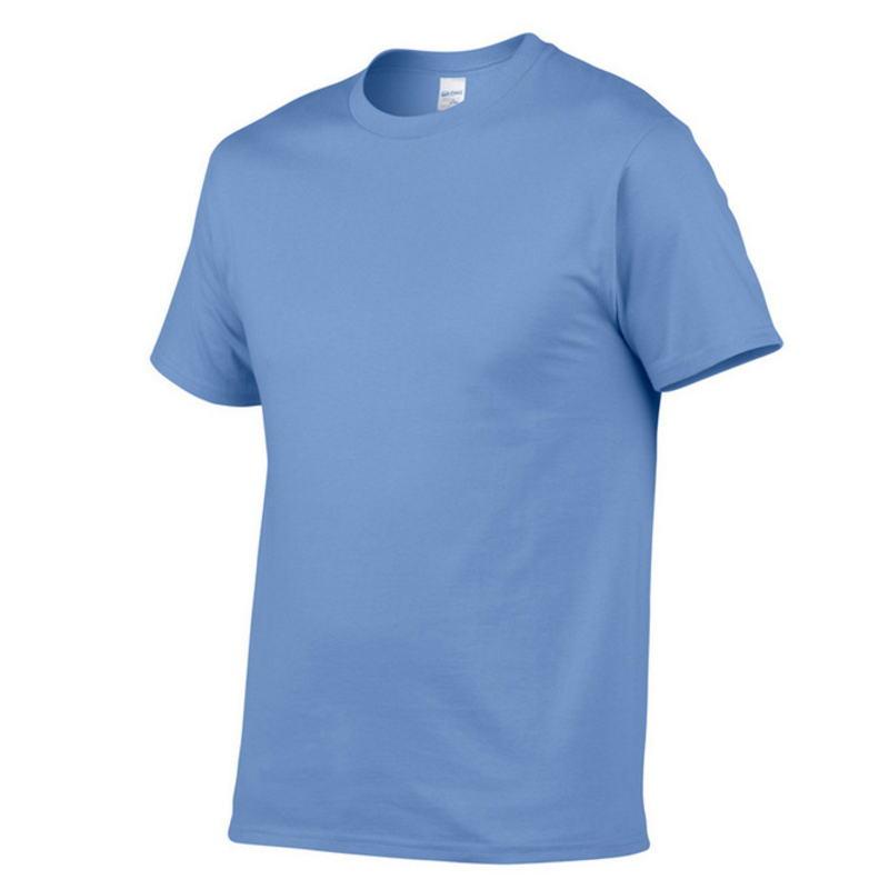Solid color T Shirt Mens Black And White 100% cotton T-shirts Summer Skateboard Tee Boy Skate Tshirt Tops Eus Plus size XS-M-2XL