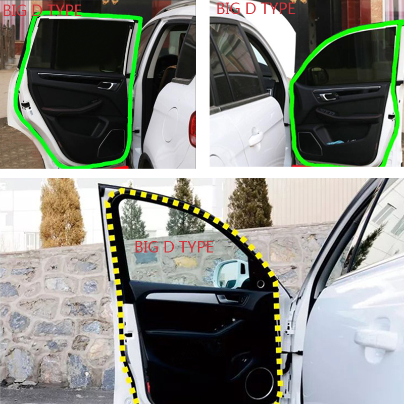 Big D Car Door Protector Seal Strip Sound Insulation Car Door Edge Protection Special for Auto Car Door Sealing Weatherstripping in Fillers Adhesives Sealants from Automobiles Motorcycles