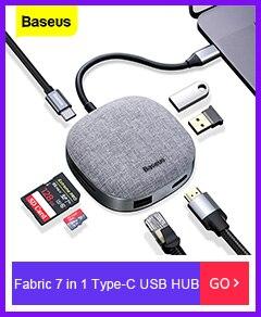 Fabric 7 in 1 Type-C USB HUB