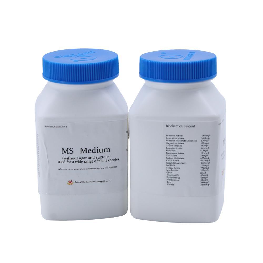 250g Lab Chemistry Murashige Skoog Medium Ms Tissue Culture Medium Media