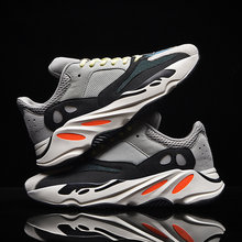 New product Hot Sale Fashion Running Shoes Men's Breathable Waterproof Air Column Sports Sneakers Comfatable Multicolor optional