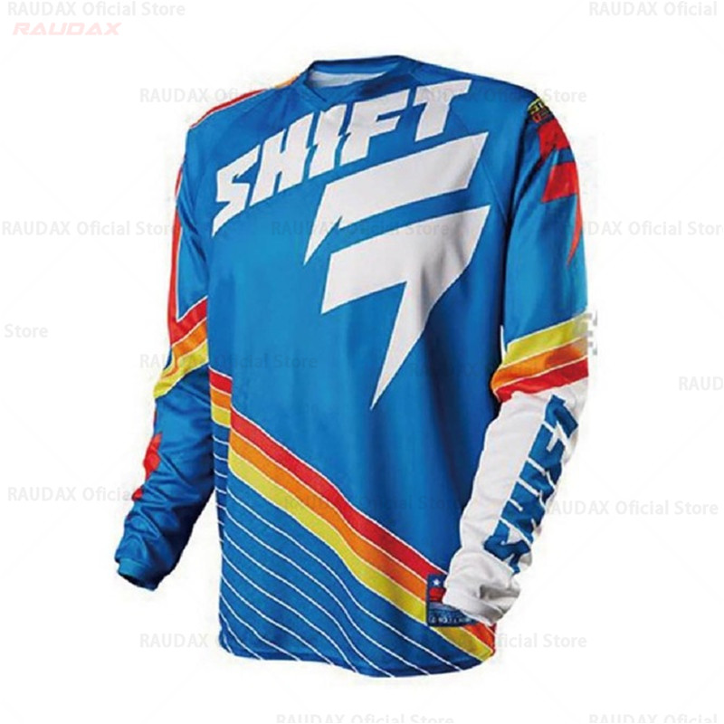2019 MTB Bike Motocross Clothing Bmx Motorcycle Cycling Fast Dry T-shirt Summer Dh Long Sleeve Dh Equipment Race Autumn