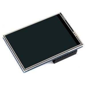 Image 2 - Ahududu Pi 4 Model B/3B +/3B 3.5 inç dokunmatik ekran TFT LCD için tasarlanmış, 125MHz yüksek hızlı SPIi, 480x320PX, XPT204
