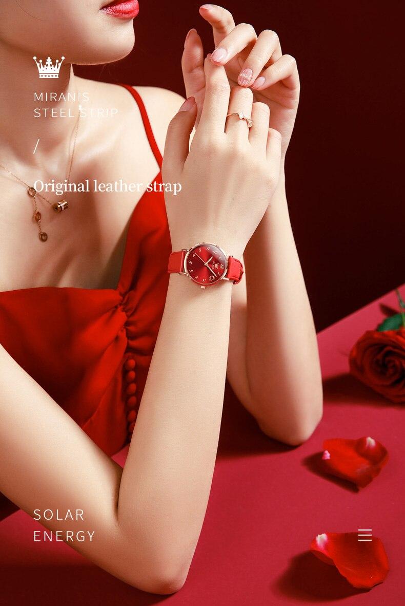 senhoras vestido relógio de moda de alta