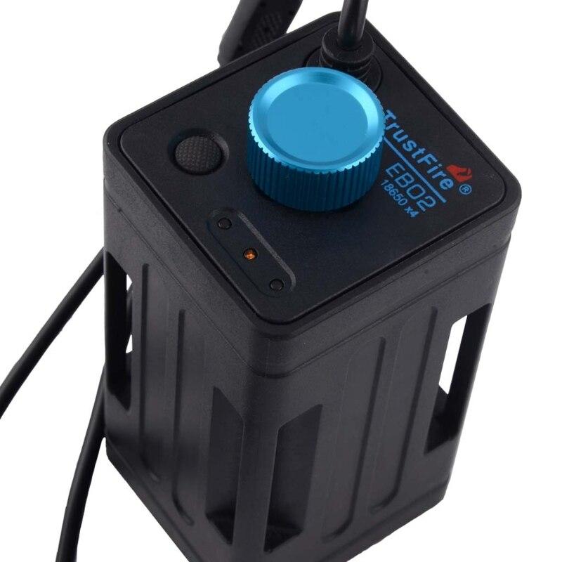 Caja de almacenamiento de batería 4x8,4 USB, resistente al agua de 18650 V para bicicleta, LED, teléfono inteligente N1HD