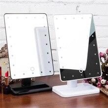 Подвеска свет включен волос светодиодный зеркало для макияжа Туалет светодиодный блестящее зеркало рабочего стола 20 светодиодный смарт-зеркало для макияжа с подсветкой в комплекте