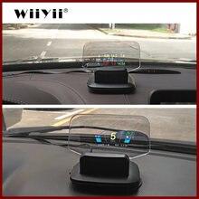 Wiiyii c1 зеркало hud 2020 Новый obd2 + gps двойной режим дисплей