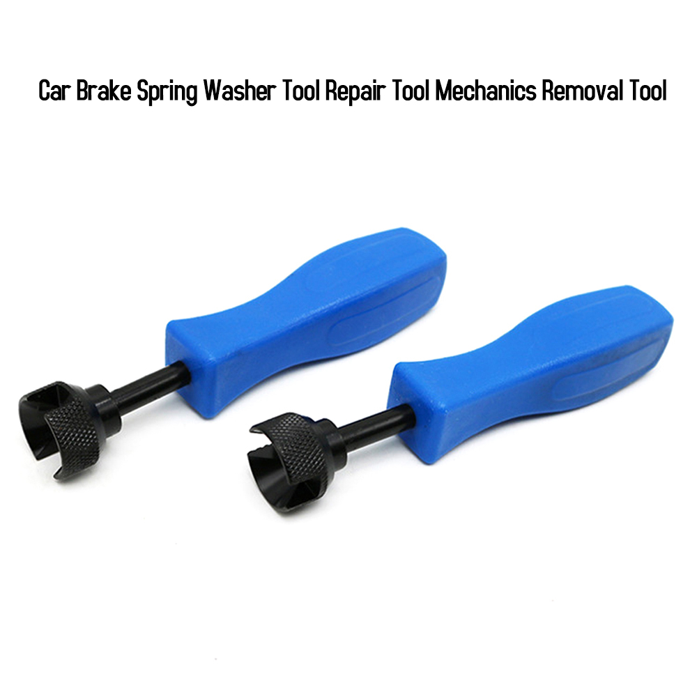 6.3 Inch Universal Drum Brake Retaining Spring Clamp Tool Car Mechanics Removal Replacing Brake Shoe Retaining Washers Hand Tool