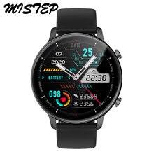 Reloj inteligente IP67 para hombre y mujer, pulsera deportiva resistente al agua con Bluetooth, llamada, reproductor de música, rastreador deportivo de ritmo cardíaco y presión arterial