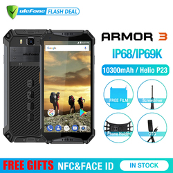 Osłona Ulefone 3 IP68 wodoodporny telefon komórkowy Android8.1 5.7
