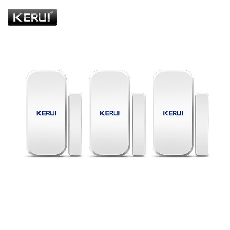 KERUI D025 Wireless Door/Window Sensor Detector For KERUI WIFI GSM Alarm System Home Security Buglar Alarm 433Mhz Door Sensor