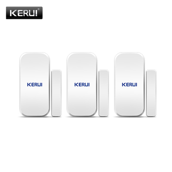KERUI D025 Wireless Door/Window Sensor Detector For KERUI WIFI GSM Alarm System Home Security Buglar Alarm 433Mhz Door Sensor цена 2017
