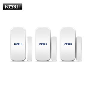 Image 1 - KERUI D025 Wireless Porta/Finestra del Sensore del Rivelatore Per KERUI WIFI Sistema di Allarme di GSM di Sicurezza Domestica Buglar Allarme 433Mhz sensore porta