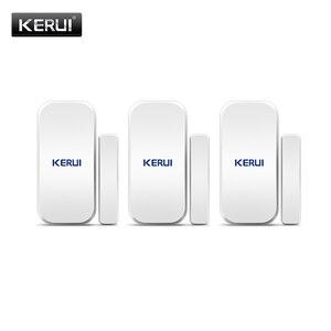 Image 1 - Kerui D025 ワイヤレスドア/窓センサー検出器 kerui wifi gsm 警報システムホームセキュリティ buglar 警報 433 mhz ドアセンサー