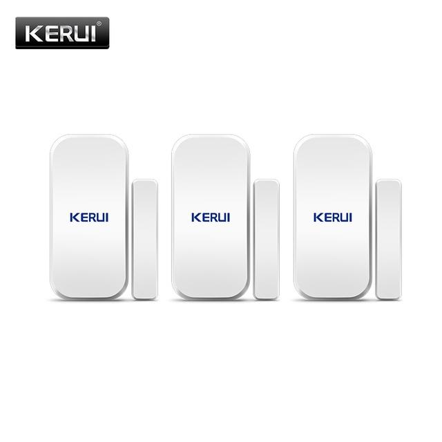 Kerui D025 ワイヤレスドア/窓センサー検出器 kerui wifi gsm 警報システムホームセキュリティ buglar 警報 433 mhz ドアセンサー