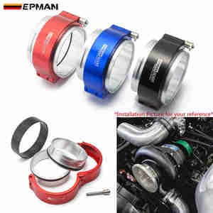 """EPMAN Exhaust V-band Clamp High Pressure Aluminium HD Clamps For 3"""" OD Turbo / Intercooler Pipe/Throttle Body EPSS76KB(China)"""