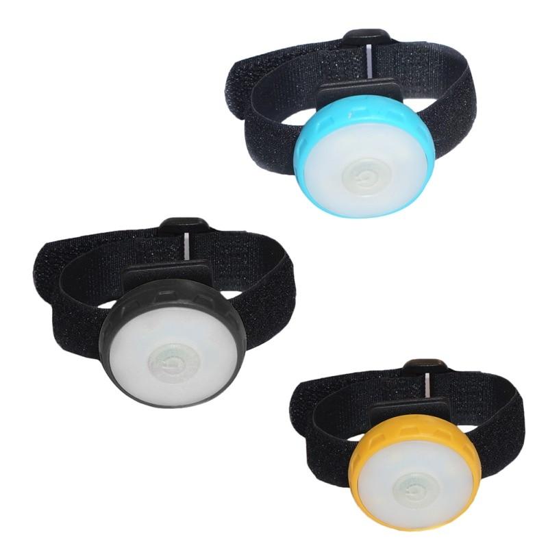 Arm Strap Night Cycling Running Lamp LED Flashing Wrist Band Bracelet Portable Bike Light LED Wrist Lamp Waterproof Flashlight
