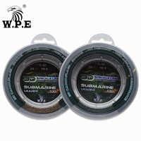 W.P.E Brand New Nylon Fishing line 100m/150m/300m/500m 10-52LB Multicolor 2-13# 3D Speckle Fishing Line Leader Line Sinking Line
