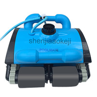 220V Swimming Pool Fouling Clean Machine Underwater Cleaning Robot Pool Vacuum Cleaner Device Automatic Sewage Suction Machine