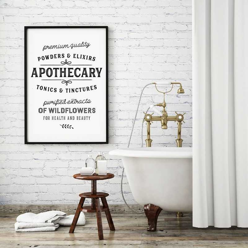 Quote Wall Art Canvas Painting