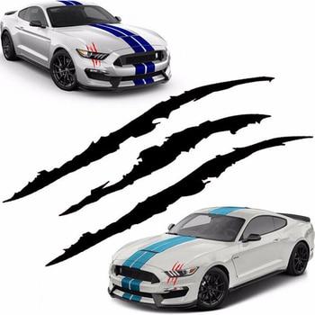 Auto Car Sticker Reflective Monster Claw Scratch Stripe Marks Headlight Decal Car Stickers