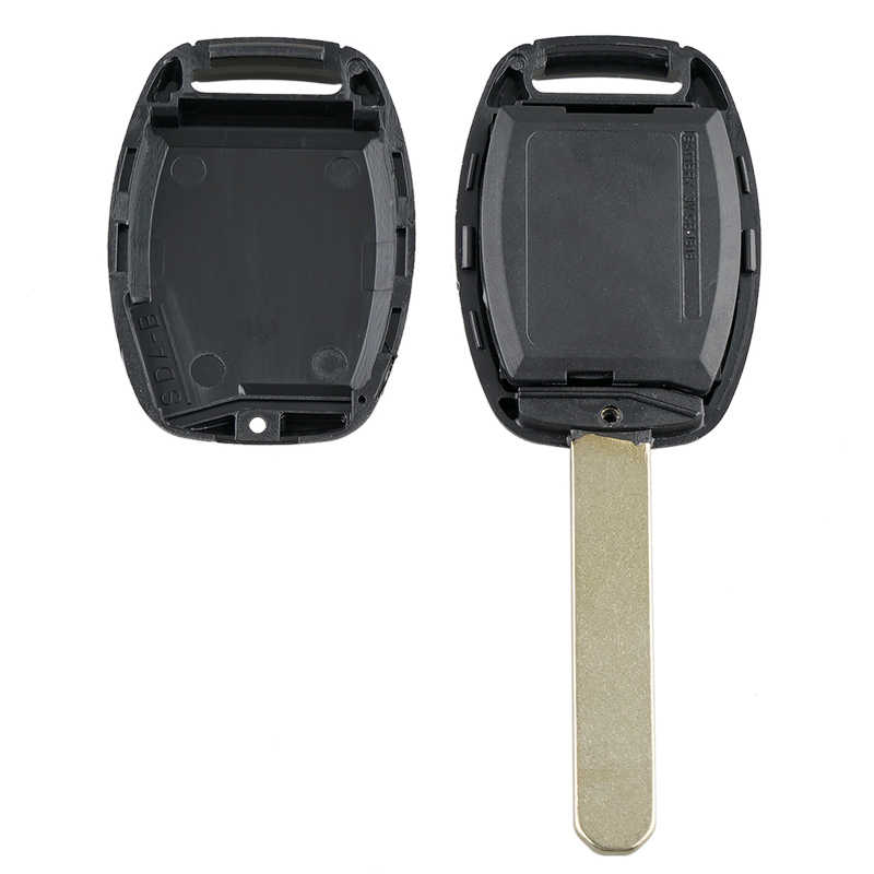 Carro inteligente remoto chave 4 botões carro chave fob apto para honda civic ex si 2006-2011 313.8 mhz N5F-S0084A