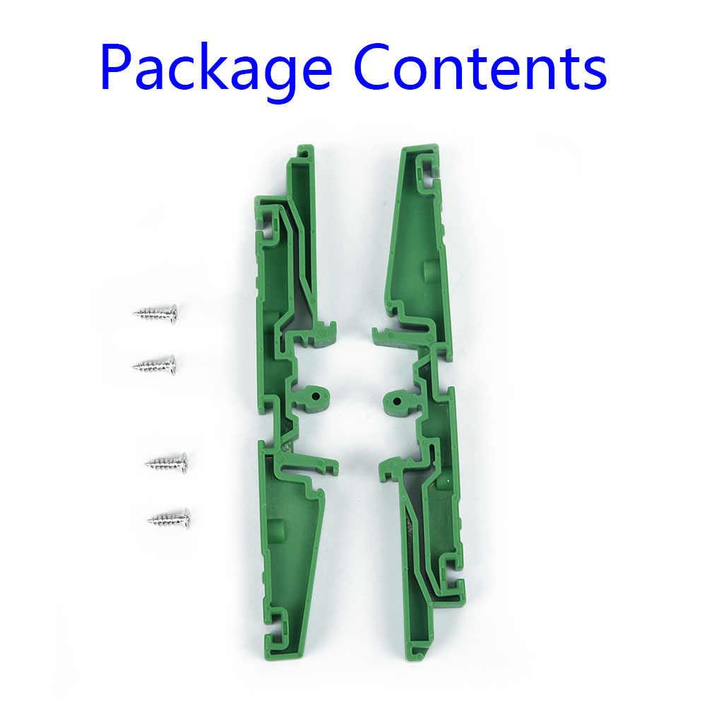 PCB Tetap Bracket DIN Rail Adaptor Sirkuit Pemasangan Papan Memperbaiki Pemegang DRG-01, DRG-02, DRG-03, DRG-04