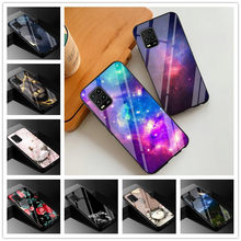 Dla Xiaomi Mi 10 Lite Case szkło hartowane twarde tylna pokrywa dla Xiaomi Mi 10 przypadku młodzieży 5G Mi10 Lite 5G Mi10Lite etui ochronne