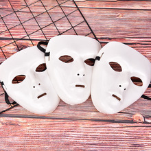 1Pc Cool Plastic Mannen Rider Masker Hip Hop Masker Ghost Dance Maskers Wit Night Lights Voor Thuis Bar Nachtclub party Rekwisieten Levert