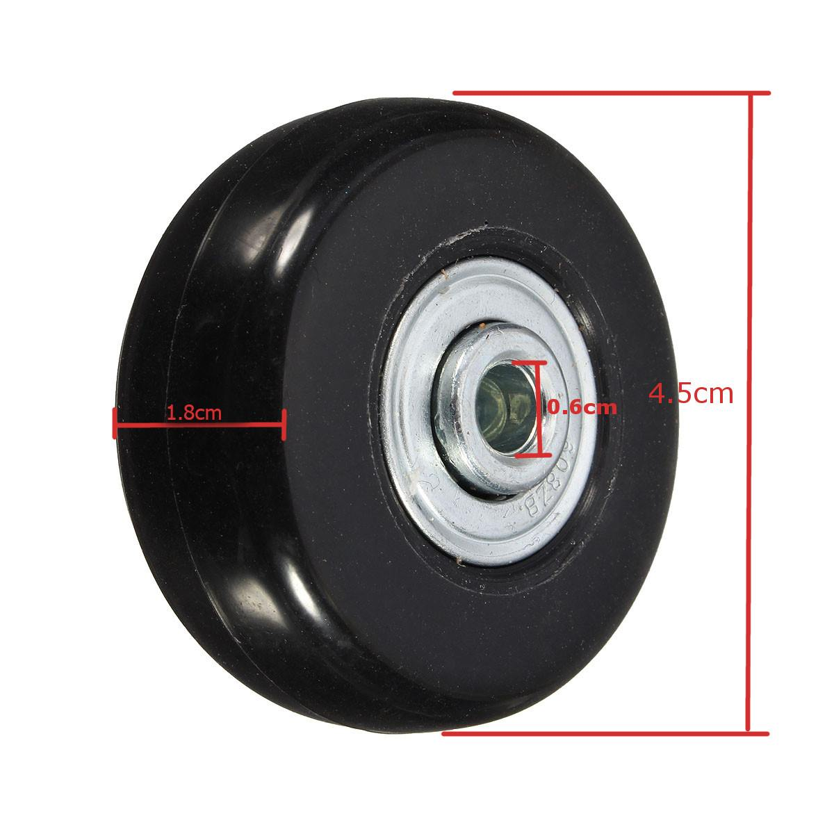 Closeout Deals⌡Replacement Suitcase-Wheels Luggage with Screw 2pcs/Set Axles Travel 45x18mm