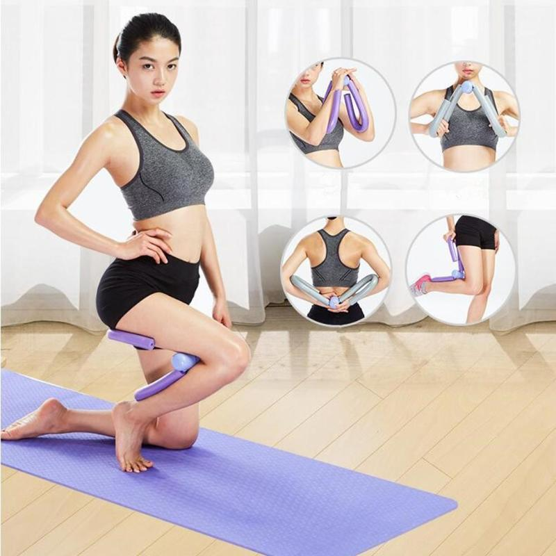 Leg Arm Chest Exerciser Workout Machine Fitness Equipment for Thigh Master Workout Machine Gym Home Fitness Equipment image