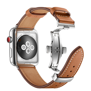 For Apple Watch Band Genuine L