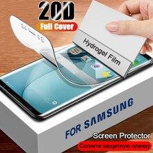 Hidrogel 100D Film Para Samsung Galaxy J2 J4 Core J5 J7 Prime Protetor de Tela Para Samsung A3 A5 A7 J3 J5 J7 2016 2017 Filme Glas