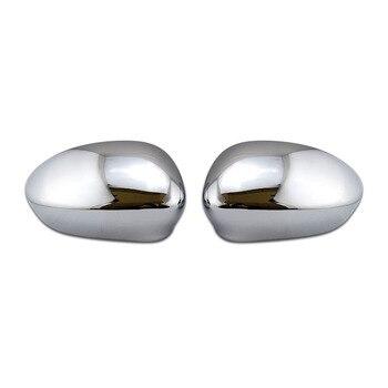 Tapa de espejo lateral cromado RHD y LHD para FIAT 500, 2007-2019