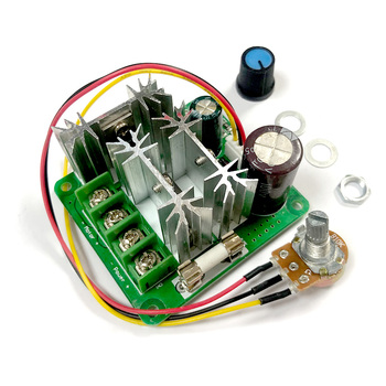 15A PWM 6V-90V DC Motor Speed Controller 6V 12V 24V 36V 48V 72V 90V Large Power PWM Power Regulator Governor Switch Soft Start image