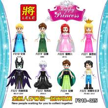 2019 Legoing Friends Figure filles princesse Olivia Mia Kate Stephanie Aisha Anna Emma Andrea blocs de construction jouets pour enfants(China)