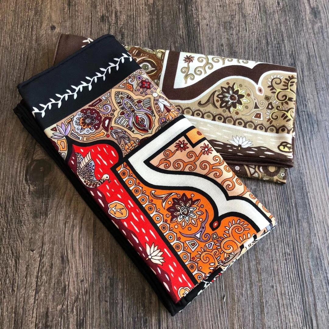 2020 Hot Premium Cashmere Silk Blend Scarf High Quality Women's Shawl Coat Fashion Scarves Wrap