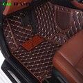 Автомобильный напольный коврик, кожаный, для renault logan megane 2 captur kadjar fluence loguna scenic koleos Espace, аксессуары, ковер