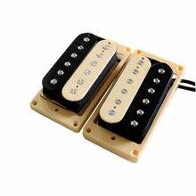 무료 배송 Alnico 2 험버커 기타 픽업 빈티지 기타 험버커 픽업 일렉트릭 기타 픽업 guitarra гитара