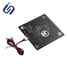 цена на Anet A6 A8 ET4 E16 E12 Heated Bed 12V/24V 3D Printer Parts Hotbed with cable Platform 220*220mm/300*300*3mm Hot bed 3D Printer