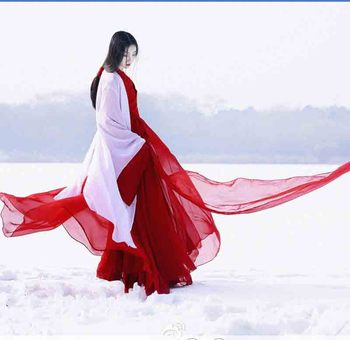 Women Hanfu Traditional Ancient Chinese Tang dynasty Costume Hanfu Female Halloween Cosplay Costume For Women Plus Size 2XL