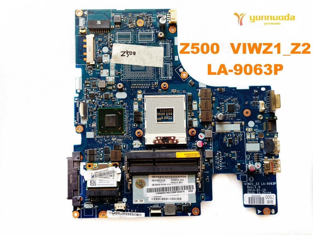 Original For Lenovo Z500 Laptop  Motherboard Z500  VIWZ1_Z2  LA-9063P Tested Good Free Shipping