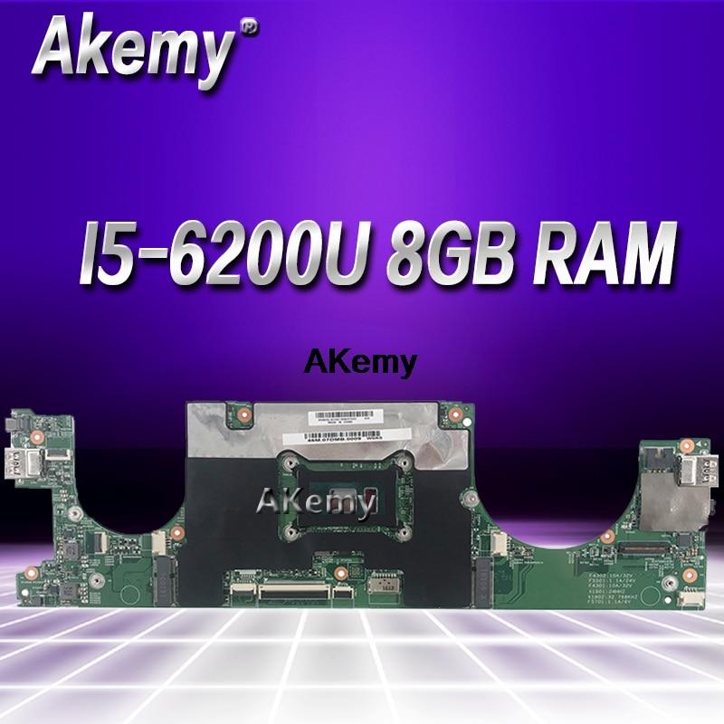 FRU:5B20M36023 For Lenovo 710S-13IKB Laptop Motherboard LS711 SR2EY I5-6200U 8GB RAMs 100% Fully Tested