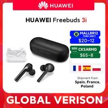 Huawei-auriculares inalámbricos FreeBuds 3i 3 i TWS versión Global, cascos con Bluetooth, cancelación de ruido definitiva, sistema de 3 micrófonos