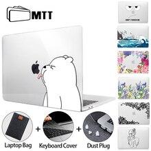 Мультяшный чехол MTT Cut для Macbook Air Pro 11, 12, 13, 15, 16, прозрачный жесткий чехол с сенсорной панелью для Macbook Pro 13, чехол a2289, a2338, a2337