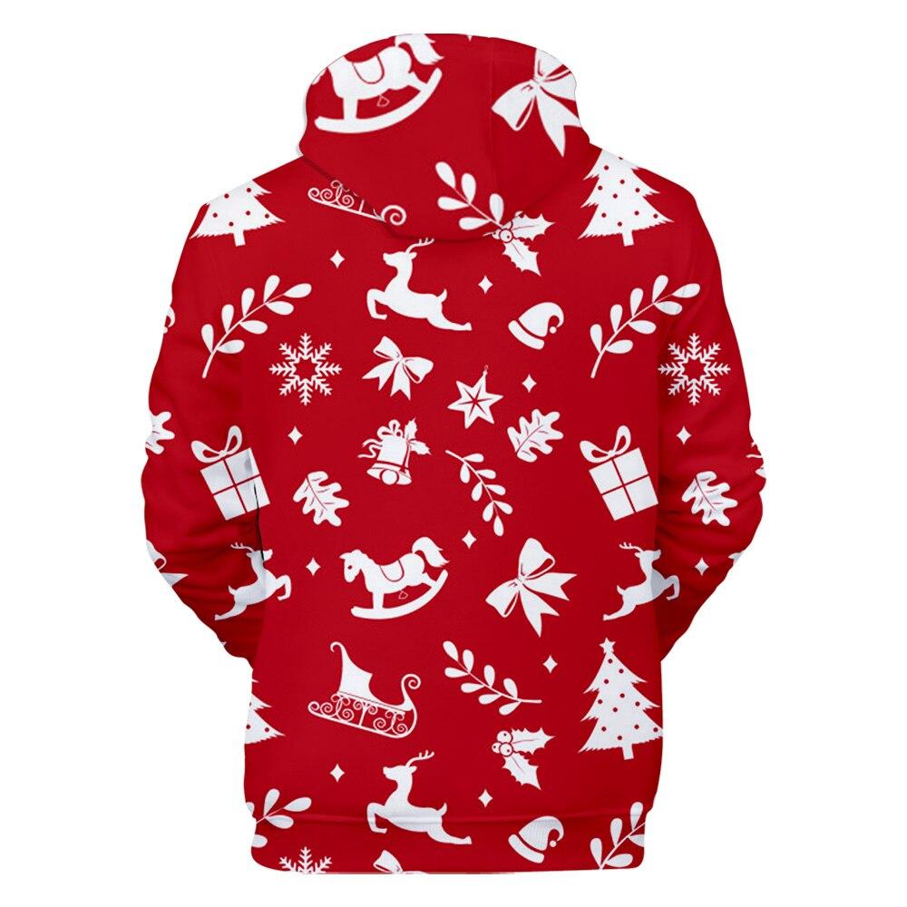 3D Christmas Hoodies Men&Women 22