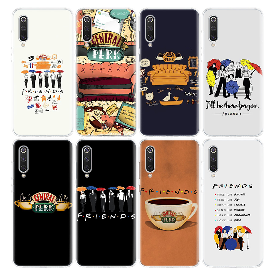 Friends TV Show Series Sitcom Phone Case For Xiaomi Redmi Note 9S 8T 8 7 6 6A 8A 5 Pro Mi 9 8 CC9 10 K30 K20 F1 5X 6X Cover Coq