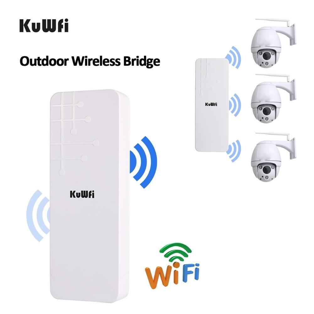 Image 4 - KuWFi Открытый CPE маршрутизатор Wifi расширитель Qualcomm 9531 скорость до 300 Мбит/с беспроводной CPE стабилизированный корпус с IP65 водонепроницаемый-in Беспроводные маршрутизаторы from Компьютер и офис